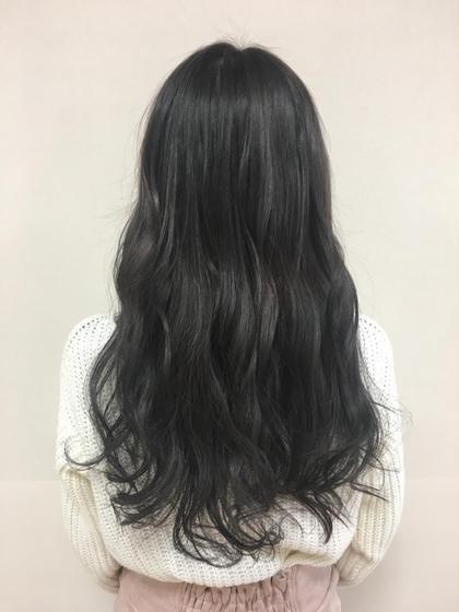 新色♡サファイヤブルー Brown所属・くがゆかりのスタイル
