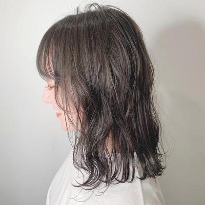 🌱色も染めたいし毛量も減らしたい🌿one color&毛量調節cutクーポン