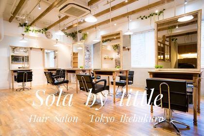 店内風景 Sola by little池袋所属・ヤナギサワショータのスタイル
