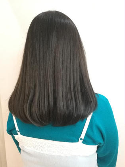 【毛先までキレイに染めたい】潤い艶カラー