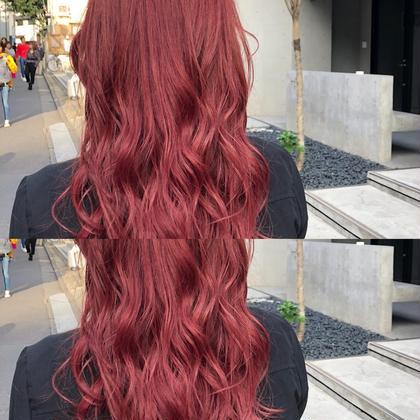Annacolorlistのロングのヘアスタイル