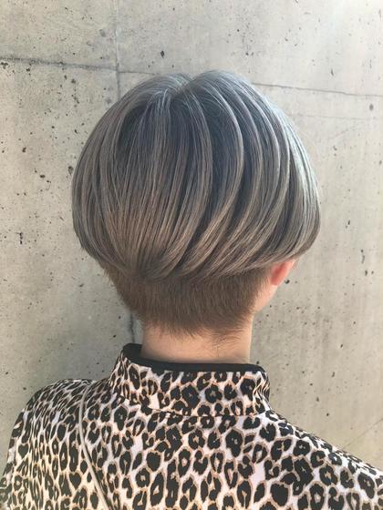 有田裕也のショートのヘアスタイル