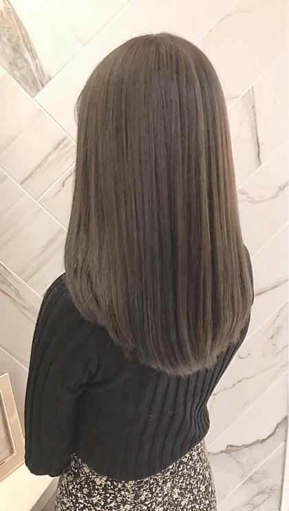 髪質改善💭美髪💓チャージ型サイエンスアクアinアディクシー.イルミナカラー+カット+TOKIOトリートメント