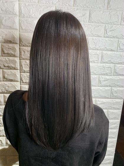 【✨サイエンスアクア+縮毛矯正+カット✨】 縮毛矯正のダメージが1/2 柔らかく自然に仕上がります