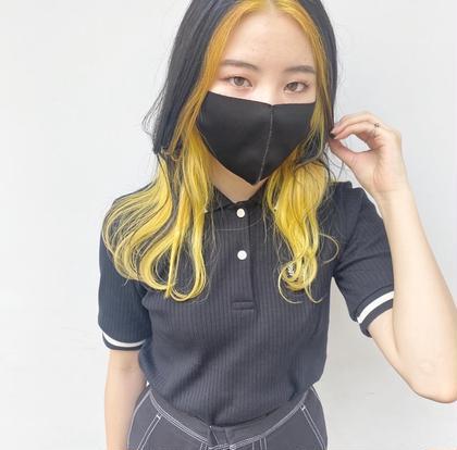 【今大人気ブラックピンクジェニ風】フェイスフレーミング+艶カラー+TR