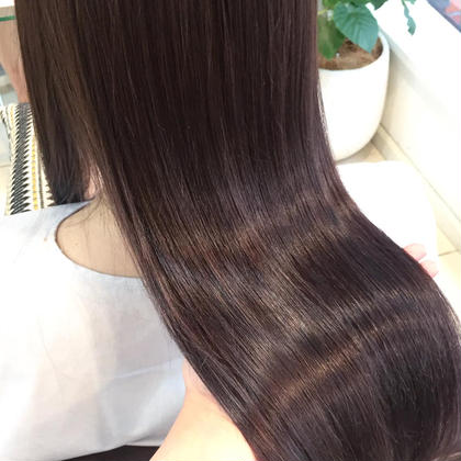 🌟‼️美髪ツヤカラーコース‼️🌟オーガニックヘアカラー & 自社開発ツヤサラ魔法のプラチナトリートメント🎀
