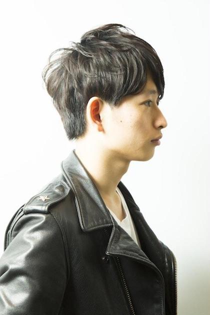 王道黒髪スタイルです!! heel所属・上杉秀明のスタイル