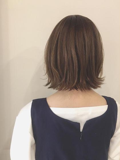 日名晴美のショートのヘアスタイル