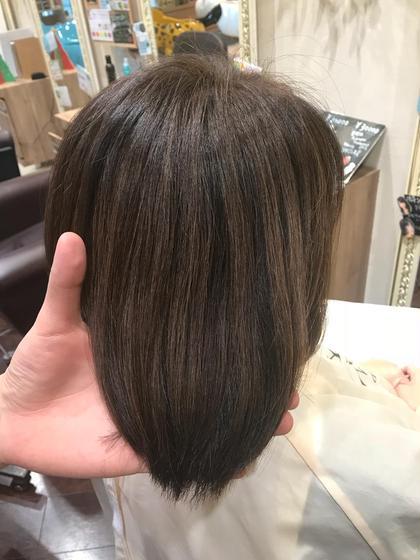 明るめの白髪染め✨  アッシュベージュ✨ NYNY大日所属・笹田秀郷のスタイル