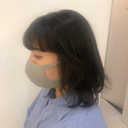 【ポイントパーマ】前髪,顔まわり根本縮毛orデジタルパーマ(前髪カット+500円)