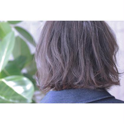 グレージュ☆ emHAIRエムヘアー所属・佐々木成のスタイル