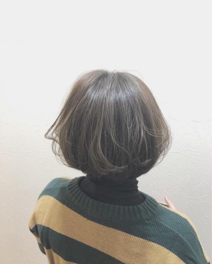 マットオリーブです◎ 柔らかみのあるカラーはいかがでしょうか? hairdesignrocca所属・サカグチリコのスタイル