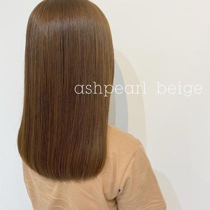 🌻full color➕髪質改善TOKIO treatment
