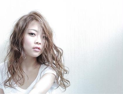 赤味のないカラー★グレージュカラー✨ Lien所属・西川ヒロキのスタイル