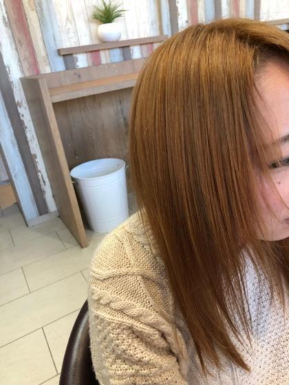 ✨前髪オイル縮毛矯正✨