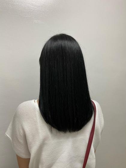 【💚学生応援価格💚】校則回避🌱黒染めを使わない暗髪カラー+トリートメント🔫是非一度僕にお任せください🌿