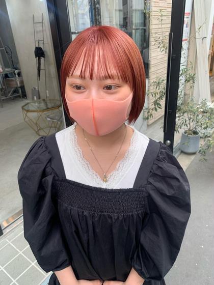 【ダメージ94%カット❣️】ケアブリーチ + ケアカラー