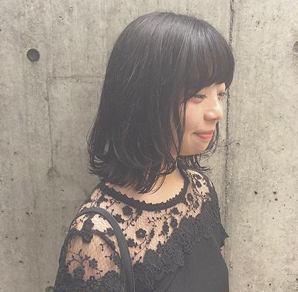セミロングからボブにばっさり✂︎❤︎ 田中亜莉菜のミディアムのヘアスタイル