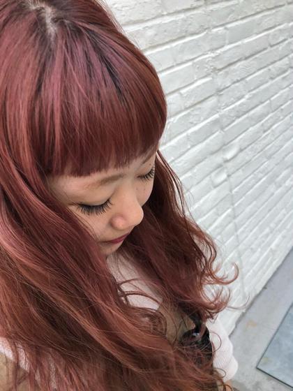 前髪カット & 内部補修トリートメント