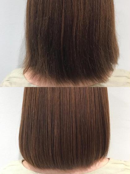 【マツコ会議で話題❗️】圧倒的艶髪✨ハイダメージ、ブリーチ毛の方にオススメ✨髪質改善酸熱トリートメントストレート