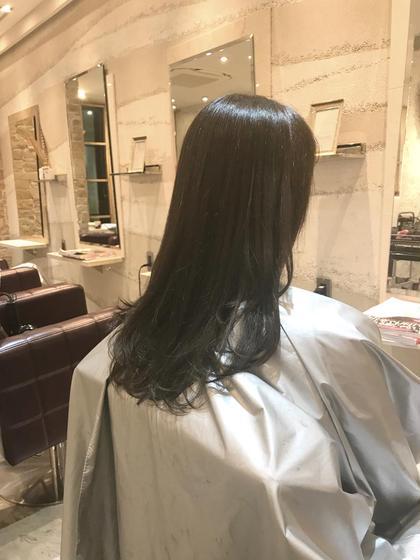 ⭐️髪質改善⭐️TOKIOトリートメント&美フォルムデザインカット