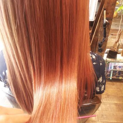カラーと同時にできる♡髪質改善ヘアエステ✨