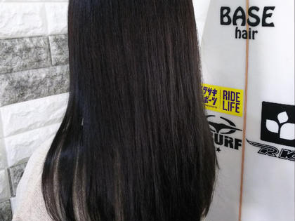 扱いやすい髪へ⭐似合わせカット&OLAPLEX縮毛矯正🌈