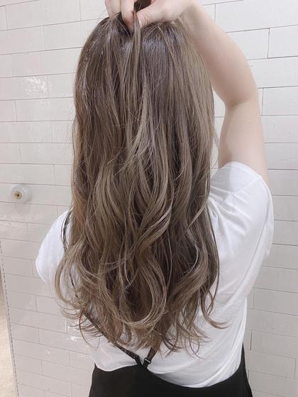 💖透明感カラーNo.1💖イルミナカラー➕髪質改善TOKIOトリートメント➕カット