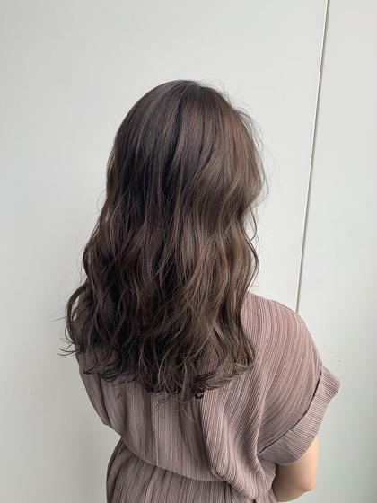 ✨髪の毛をサラサラに❣️ヘアカラー〈イルミナ、アディクシーetc最新カラー剤使用‼️〉&3step補修トリートメント