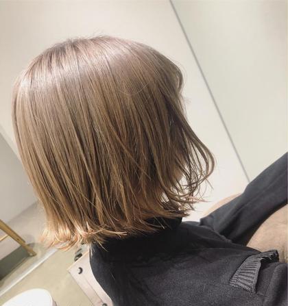 髪質改善ダブルカラートリートメント(カット込)