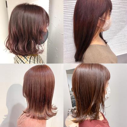 💖暖色カラー1番得意です💖ブリーチ無しでも可愛い暖色カラーお任せください✨ピラミンゴカラー+oggiotto