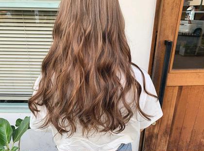 ✨前髪カット + うる艶カラー
