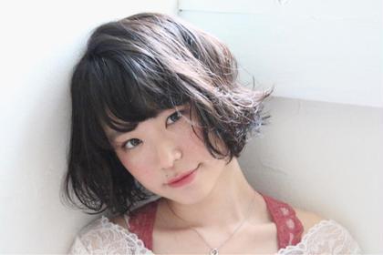 ✨艶髪を約束します✨デザインカット+N.カラー+TOKIOトリートメント