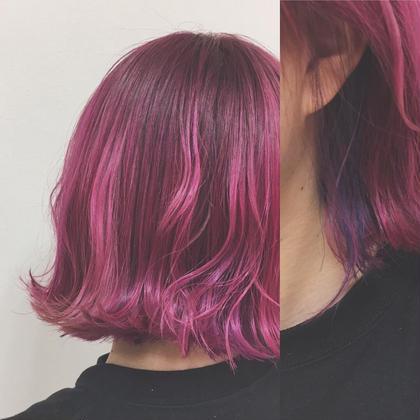 pink pink pink…/// inner...blue purple✧‧˚ marjuGINZA【マージュ 銀座】所属・野村さなみのスタイル