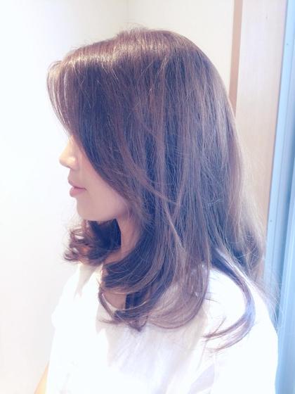 大人ゆるふわカール♡ STOKED所属・かずもと朱美のスタイル