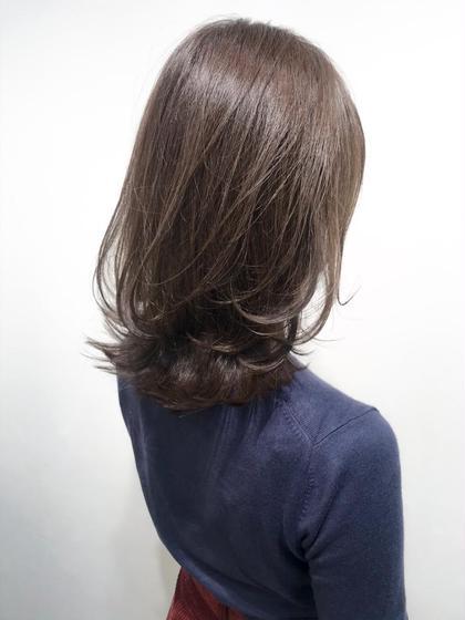 【ロブレイヤー】×【ラベンダーアッシュカラー】  ブルーとバイオレットをMixした髪色で透明感とつや感を💁♂️  カットはトップに少しレイヤーを入れて、ふんわりと動きのある髪型に💇♀️  色持ち目安1.5ヶ月  ✔︎透明感のある髪色にしたい方 ✔︎つや感のある美髪カラーにしたい方 ✔︎ふんわりと動きのある髪型にしたい方 ✔︎朝のスタイリングが楽な髪型にしたい方  などにオススメです🙆♂️   インスタグラムで、その他スタイル更新してます。 気に入ったスタイルは保存しておいてもらうと カウンセリングがスムーズです☆  instagram→@hayatoniwa