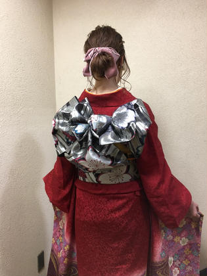 【✨ミニモ限定クーポン✨】卒業式ヘアセット & 袴、振袖の着付け