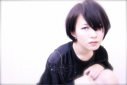 ブラックアッシュなカラーとストレートデザインでモードあるスタイルに☆ CHERIE hair design所属・キムラユウタのスタイル