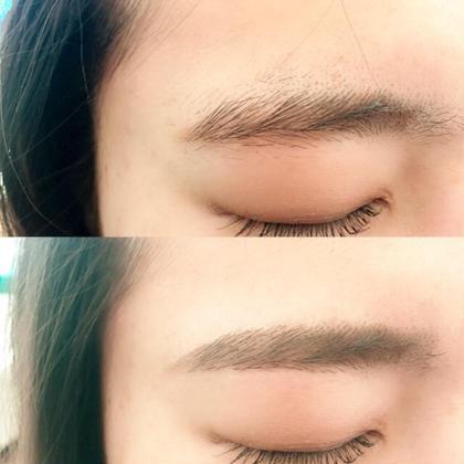 トレンド❤️ストレート眉  眉デザイン+眉ブラジリアンwax+眉カットのコースです Atelier-01所属・atelier-01ブラジリアン★のフォト