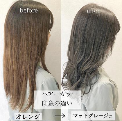 ㊙️3名限定㊙️髪質改善カット✂︎+最新カラー+💆♀️高級最新トリートメント