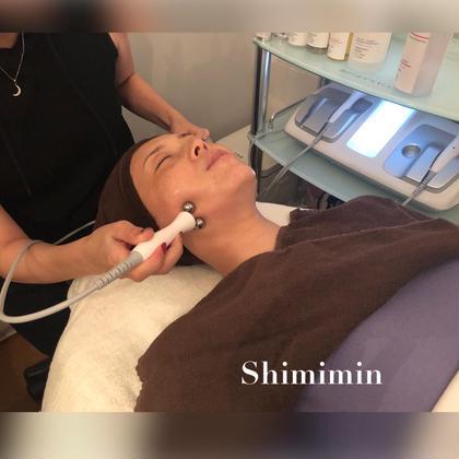 【デラックスコース】シミケア&炭酸筋膜リリース クレンジング→洗顔→ 毛穴洗浄+シミケア(10分)→炭酸筋膜リリース
