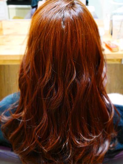 *フルカラー 暖色で赤みが強めのカラーです! 艶のある色味になります(^^) neolive nico所属・藤原みゆきのフォト