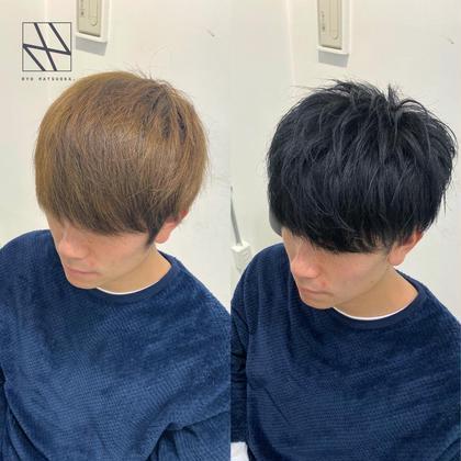 👔💈メンズ就活・インターン専用💈👔好印象カット+地毛風黒染めカラー+髪質改善トリートメント🌿