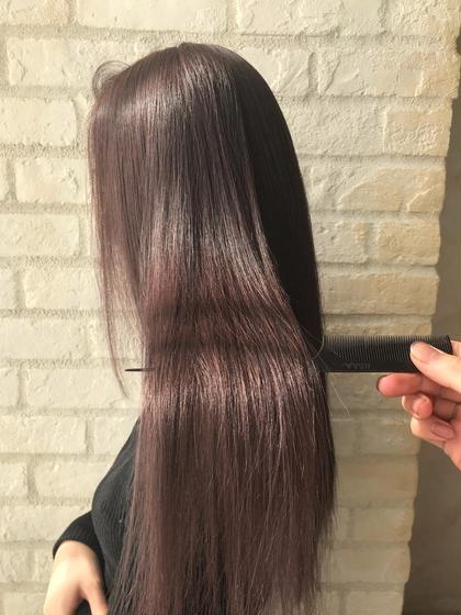 【人気急上昇中!◎】前髪cut+color+ヒアルロン酸コラーゲンの前処理剤付き!