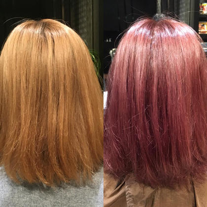 派手髪とかもできます。 Hair&Make EARTH所属・榎本雅朗のスタイル