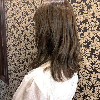 [🌈💓色持ちが気になる方オススメ!] ❤根元〜毛先まで 色持ち長持ち (カット+) 全体カラー+色艶トリートメント