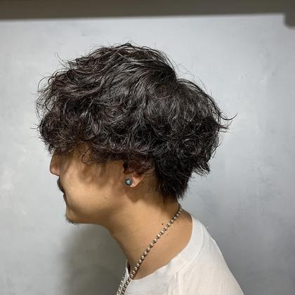 【メンズ限定】カット+パーマ¥5500