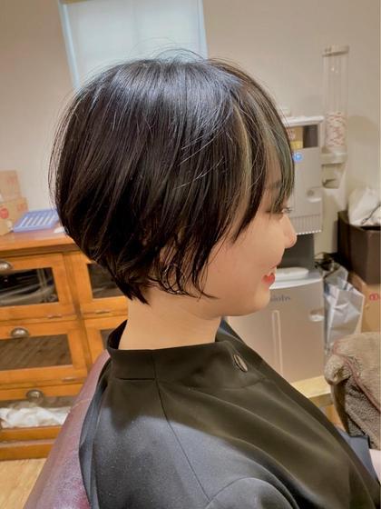 🌈前髪カット&毛先カット&フルカラー&トリートメント(メンテナンスカット)