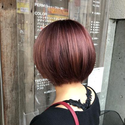 🧸髪を傷ませないイルミナカラー🧸