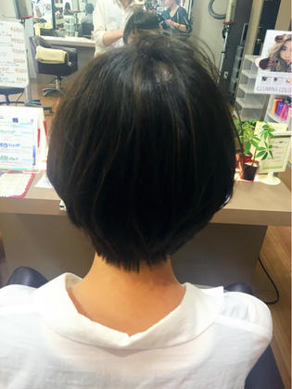 hair an floren所属・佐藤梨奈のスタイル